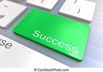 Success keyboard button