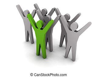 success., leadership., equipe