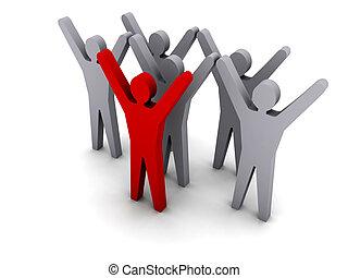success., leadership., squadra