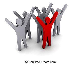 success., leadership., team