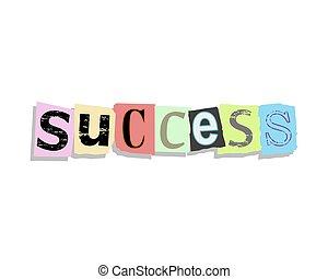 Success Paper Letters