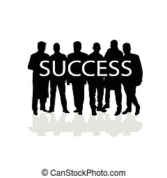 success people vector