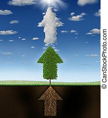 Success Program - Success program business concept as...