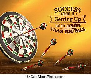 Success Quotes Illustration