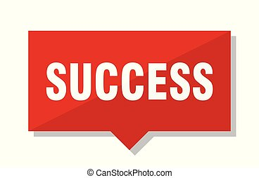 success red tag