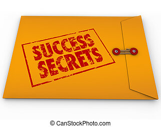 Success Secrets Winning Information Classified Envelope - A ...