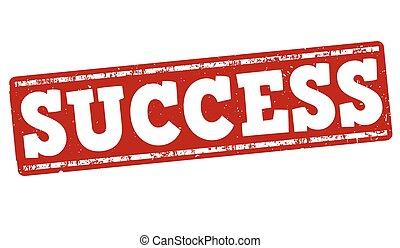 Success stamp