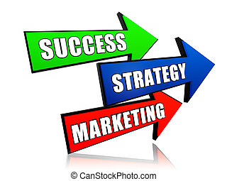success, strategy and marketing in arrows