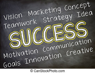 Success Strategy Concept