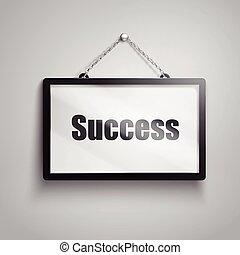 success text sign