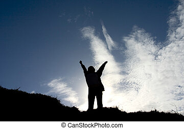 Success! - This photograph was shot at Bribie Island, ...