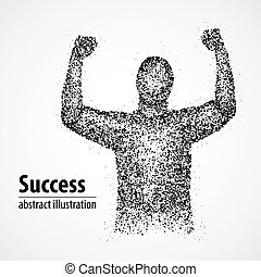 success, victory, abstract, luck, winner