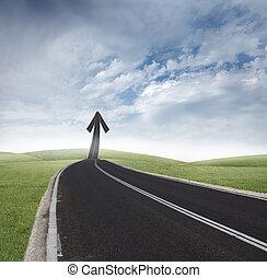 Success way - Concept of way of the success