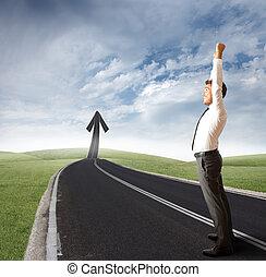 Success way - The way of success of a businessman