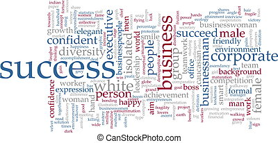 Success word cloud