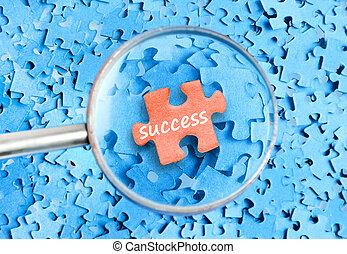 Success word