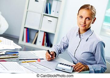 Successful accountant