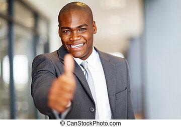 successful african american businessman