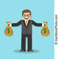 successful and wealthy businessman