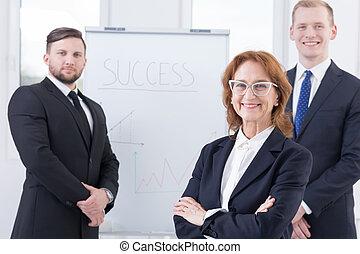 Successful buisness team