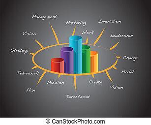 Successful business concept illustration