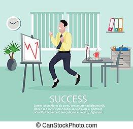 Successful Business Idea Poster