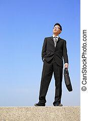 Successful business man