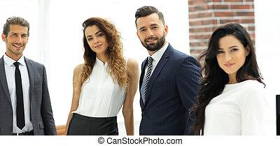successful business team in office - portrait of successful...
