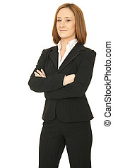 Successful Business Woman Standing