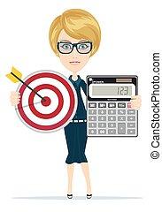Successful business woman- teacher