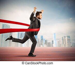 Successful businessman - Concept of successful businessman...