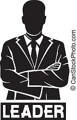 (successful, businessman), leider