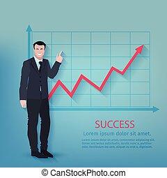 Successful Businessman Poster