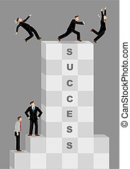 Successful But Ruthless and Selfish Businessman Creative ...