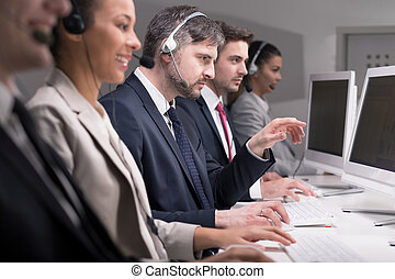 Successful call center