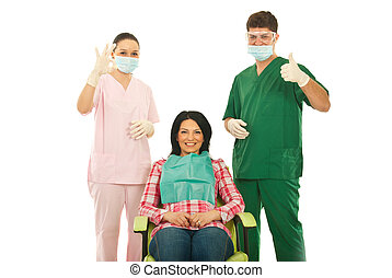 Successful dental treatment
