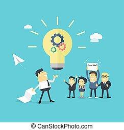 Successful Design Concept Great Idea