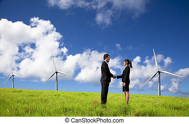 Successful eco business and companies