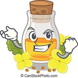 Successful mustard oil isolated with the character vector ...