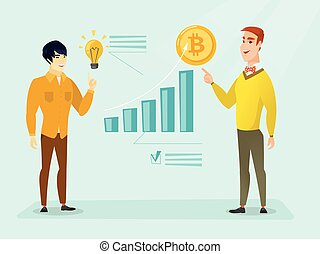 Successful promotion of new cryptocurrency startup - Young...