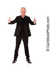 Successful smiling Businessman
