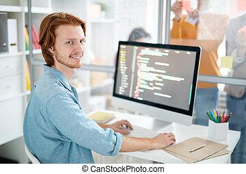 Successful webdesigner