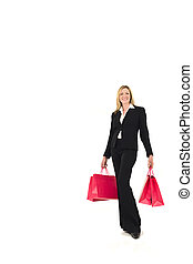 Successful Woman Shopping