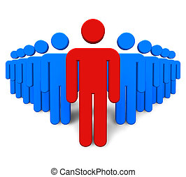 success/leadership, conceito