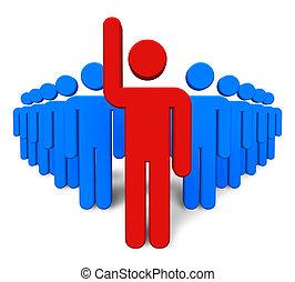success/leadership, concept