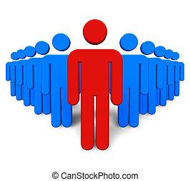 success/leadership, concetto