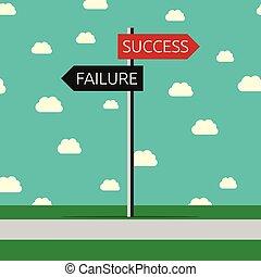 successo, fallimento, scelta
