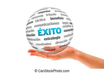 successo, parola, sfera, (in, spanish)