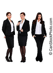 succesvolle , drie, businesswomen