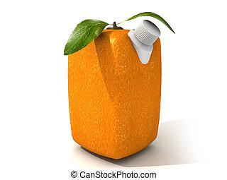 succo arancia, puro